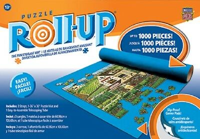 "MASTERPIECES PUZZLE ROLL-UP 36""x30"" MAT 1000 PCS MAX"