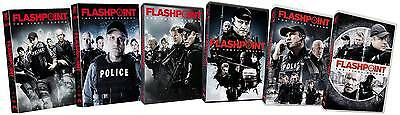 Flashpoint: Complete Series (DVD, 2013, 19-Disc Set, Canadian) - NEW, SEALED