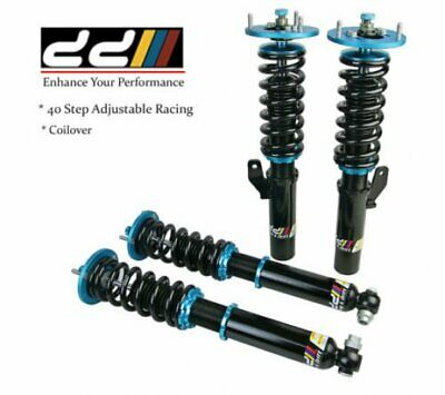 DD 40 Steps Mono Tube Racing Coilover Shock Suspension Fit BMW E38 735i 94-01
