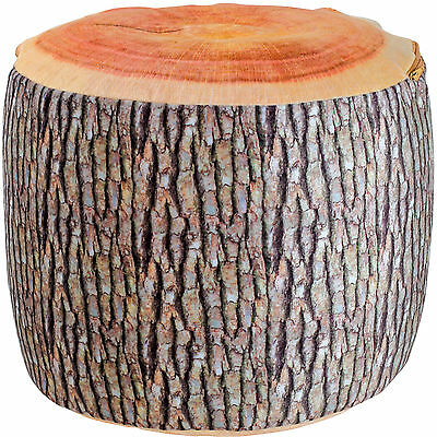 STOOL TREE TRUNK MADE OF FABRIC Air cushion Kid's room Furniture Seat