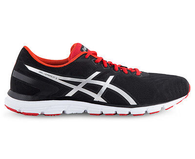 ASICS Men's GEL-Zaraca 5 Shoe - Black/Silver/Vermilion