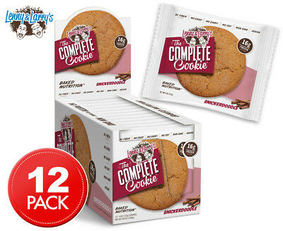 12 x Lenny & Larry's The Complete Cookie Snickerdoodle 113g