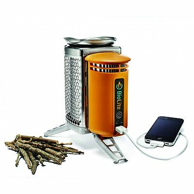 BioLite Camp Stove with Heat-To-Electricity Technology