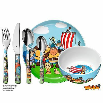 WMF Kinderbesteck WICKIE Set 6 teilig