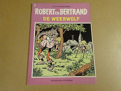 Strip / Robert En Bertrand N° 8 - De Weerwolf