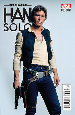 STAR WARS HAN SOLO #3 MOVIE 1:15 VARIANT (Marvel 2016 1st Print)