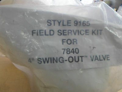 """Akron Style 9165 Field Service Kit For 7840 4"""" Swing-Out Valve"""