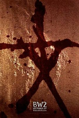 Blair Witch 2 Book of Shadows - original DS movie poster - 27x40 D/S Advance