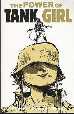 The Power of Tank Girl / US Trade Paperback / Martin Dayglo & Wood