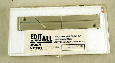EDITALL S-1 Splicing Block for Casette Tape - New, Free Shipping