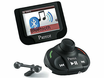 "Parrot MKI9200 Bluetooth Hands Free Color Car Cell Phone kit w/ 2.4"" display"