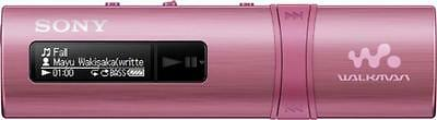 NEU Sony MP3-Player 4GB.USB WM.pink NWZB183P.CEW