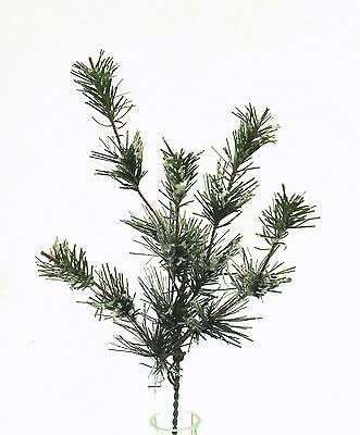 "12"" SNOW PINE PICK~ Christmas Filler Greenery Silk Wedding Flowers Centerpieces"
