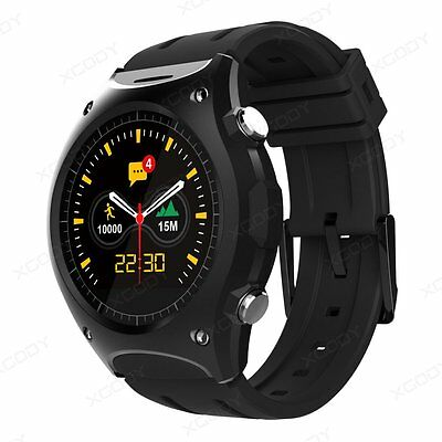 Q8 Bluetooth Outdoor Smart Watch Heart Rate Altitude Thermometer For IOS Android