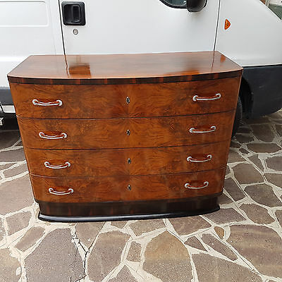 Beautiful Italian Art Deco Chest Of Drawers From 1930