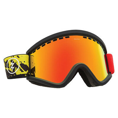 Electric Goggles - EGV Snowboard and Ski Goggles with Spare Lens - 2017