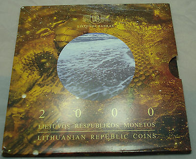 Lithuania 2000 Official mint set PROOF