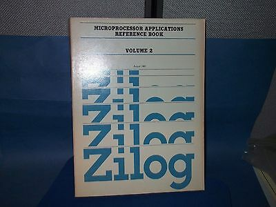 ZILOG Databook MICROPROCESSOR APPLICATIONS REFERENCE BOOK VOL 2 1983