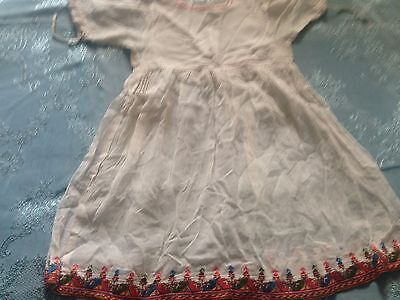 Beautiful Vintage Hand-Embroidered Child's Dress
