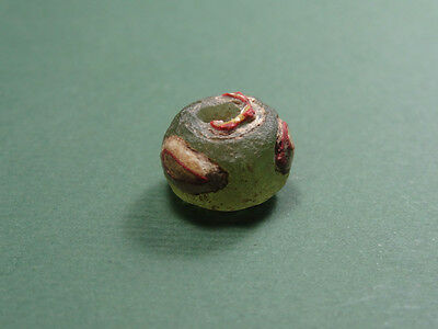 Ancient Glass Eye Bead Egyptian Late Period, 200-50 Bc