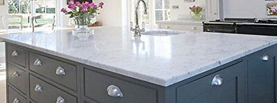 """Laminate Counter Top Faux White Marble Peel and Stick Film DIY 36""""x36"""""""