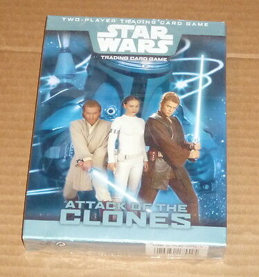 Star Wars Attack Of The Clones Two Player Trading Card Game. New