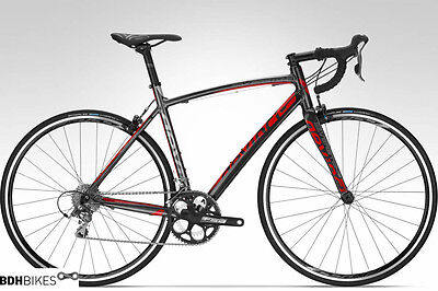 DEVINCI Silverstone SL3 2015 Road Bike Large Charcoal & Red New !