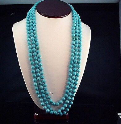 Artistic Estate 8.5mm 80 Inch Hand Knotted Necklace Strand