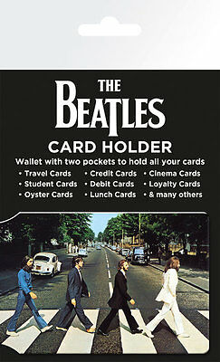 New The Beatles Abbey Road Card Holder Bus Pass Oyster Travel Credit 064