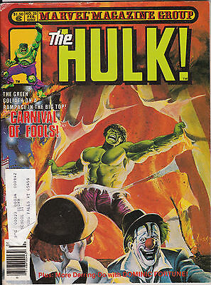February 1981 Marvel Comics The Hulk Comic Book Magazine #25