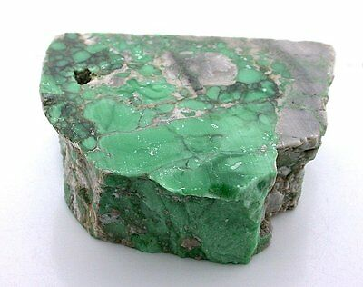 312.4 Gram SOLID AAA BLOCK Variscite Spiderweb Cabochon Cab Gemstone Rough VS2