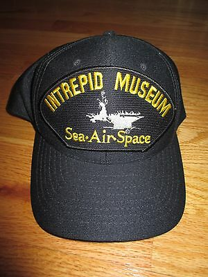 INTREPID Aircraft Carrier MUSEUM Sea-Air-Space (Adjustable Snap Back) Cap