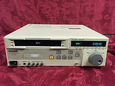 Panasonic AG-7150-P SVHS professional-grade video cassette player
