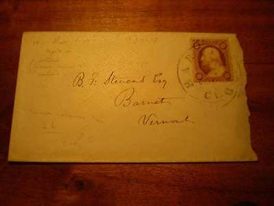 (X183) EARLY USA COVER WITH 3c STAMP
