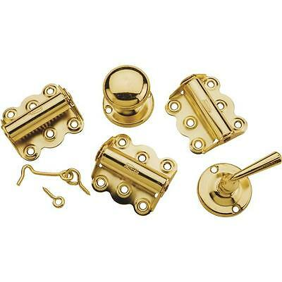 Die Cast Brass Screen Storm Door Hinge Pull Latch Build Rebuild Kit N100018