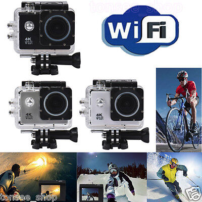 Wasserdichtes 4K H9 WIFI Mini Action Cam Ultra HD DV Sport Kamera Recorder