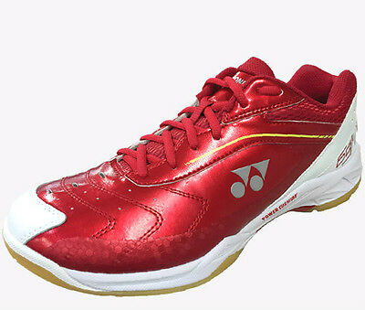 New 2016 Yonex Shb-65Aw Power Cushion 65 4E Wide Front Badminton Indoor Shoe Red