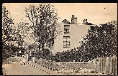 Postcard ~ MILL HOUSE in SEABROOK Kent HYTHE ~ 1912