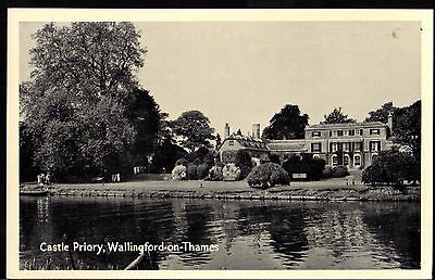 Postcard ~ CASTLE PRIORY at WALLINGFORD-ON-THAMES ~ Early