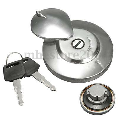 Replaces Gas Fuel Tank Cap Cover & 2 Keys For YAMAHA V-STAR VIRAGO XV650 XV1100