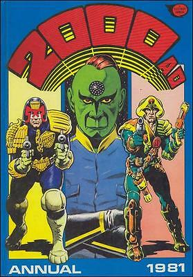 2000 AD 1981 Annual Graphic Novel