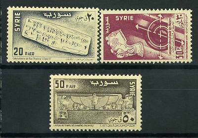 16-10-05029 - Syria 1956 Mi.  700-702 MNH 100% Week of museums