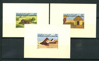 16-10-05129 - Mauritania 1982 Mi.  761-763 SS 100% Deluxe BL. MNH Traditional Dw