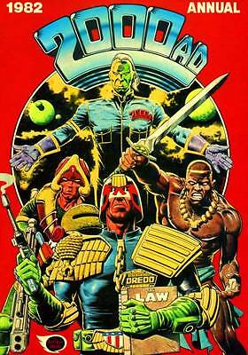 2000 AD 1982 Annual Graphic Novel