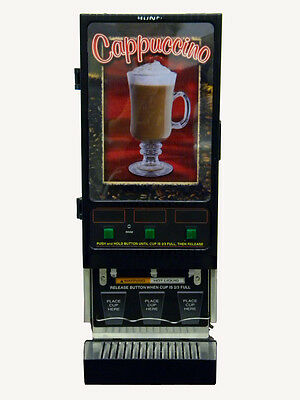 Bunn FMD-3 Cappuccino Dispenser-3 Flavor Powdered Mix Machine, SS 120V