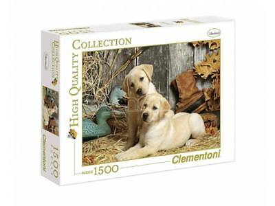 Clementoni Puzzle 31976 - Hunting Dogs - 1500 pezzi High Quality Collection