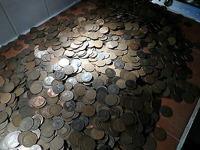 Pennies coins From 1895 to1967 bulk lot 100 coins in this lot