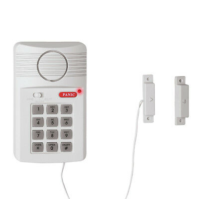 Home Alarm System With Magnetic Sensors, White, by Collections Etc