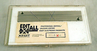 EDITALL S-3X Splicing Block for 1/4in Audio Tape - New, Free Shipping