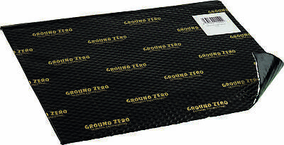 Ground Zero GZDM 3750AB Gold 10x Alubutyl Dämmung 750 x 500 x 2,2 mm (3,75m²)